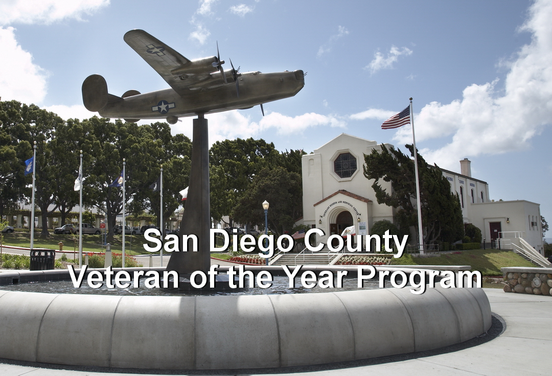 San Diego County Veteran of the Year Program